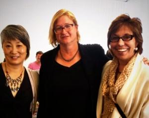 Amazing FemTechNet minds: Lisa Nakamura, Liz Losh, Anne Balsamo