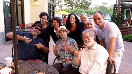 Jim Groom, Howard Rheingold, Gardner Campbell, Lisa M. Lane, Kira Baker-Doyle, (yours truly), Kim Jaxon, Helen Keegan, Michael Wesch
